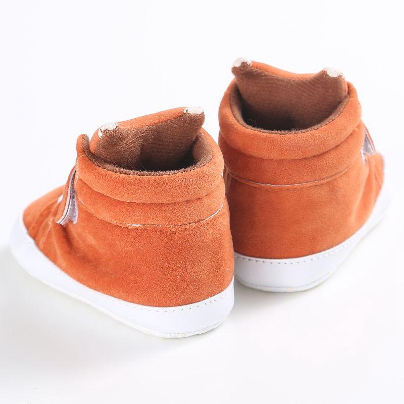 1X-1-paire-de-chaussures-de-bebe-d-039-automne-enfants-garcon-fille-tete-de-ren-J5H4 miniature 5