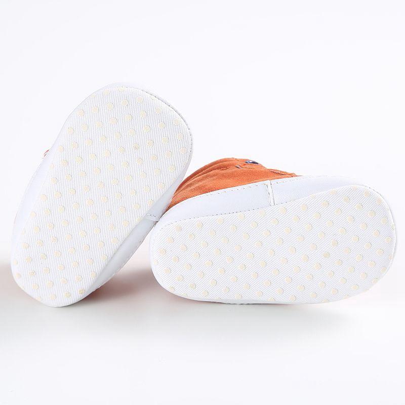 1X-1-paire-de-chaussures-de-bebe-d-039-automne-enfants-garcon-fille-tete-de-ren-J5H4 miniature 6
