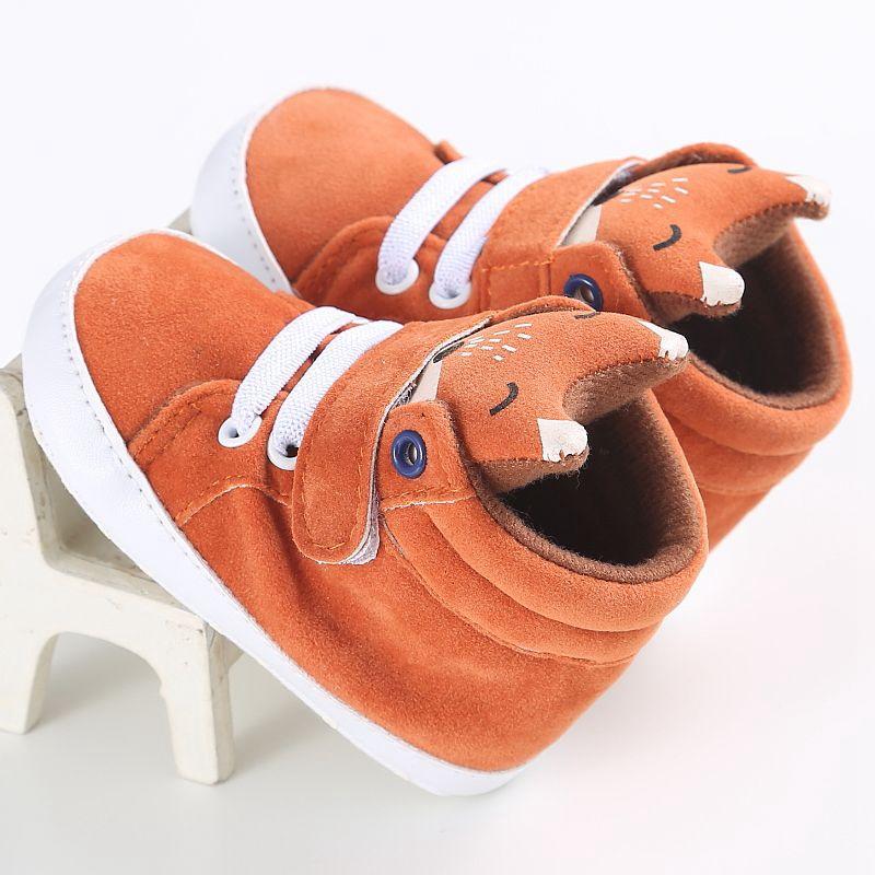 1-paire-de-chaussures-de-bebe-d-039-automne-enfants-garcon-fille-tete-de-renard-G2Q6 miniature 7