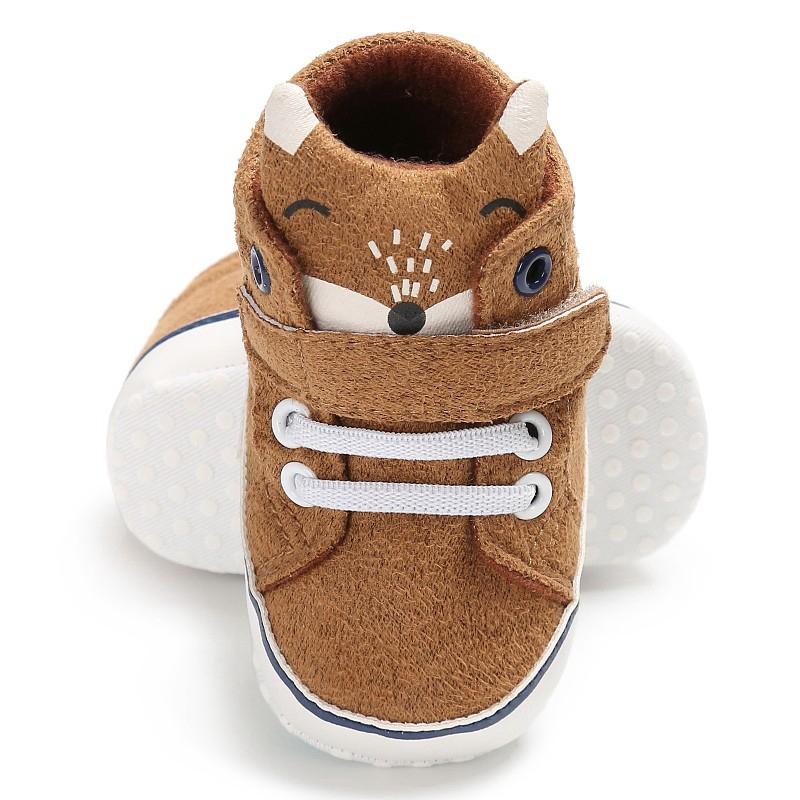 1X-1-paire-de-chaussures-de-bebe-d-039-automne-enfants-garcon-fille-tete-de-ren-J5H4 miniature 13