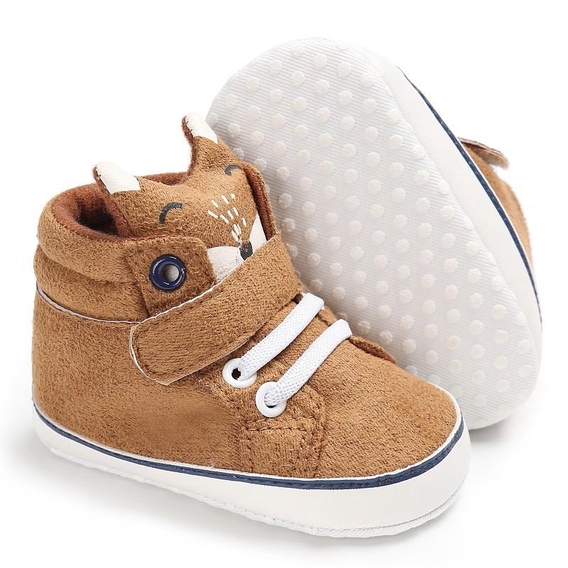 1X-1-paire-de-chaussures-de-bebe-d-039-automne-enfants-garcon-fille-tete-de-ren-J5H4 miniature 14