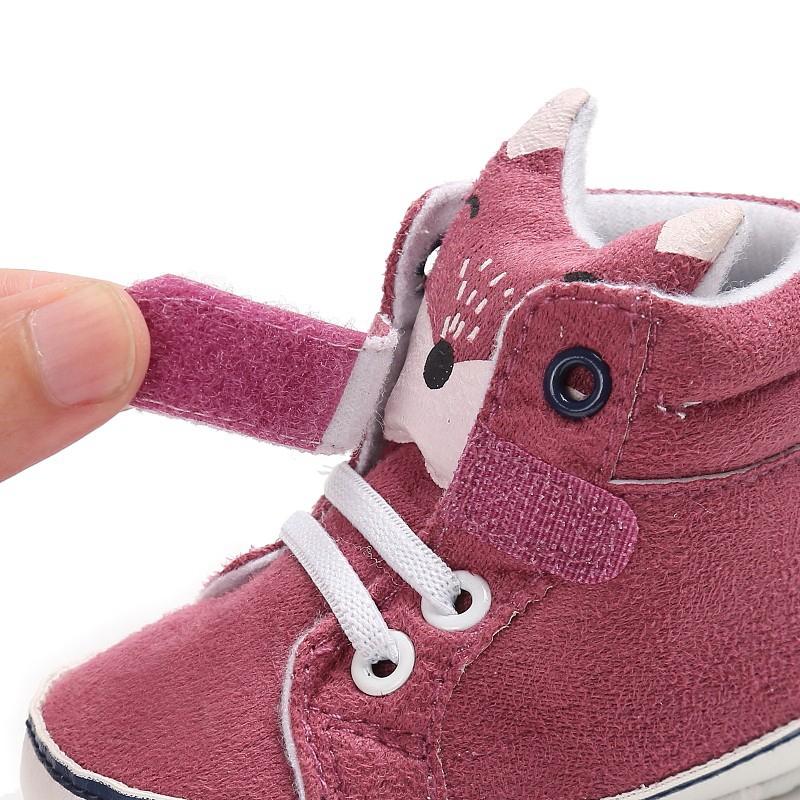 1-paire-de-chaussures-de-bebe-d-039-automne-enfants-garcon-fille-tete-de-renard-G2Q6 miniature 23