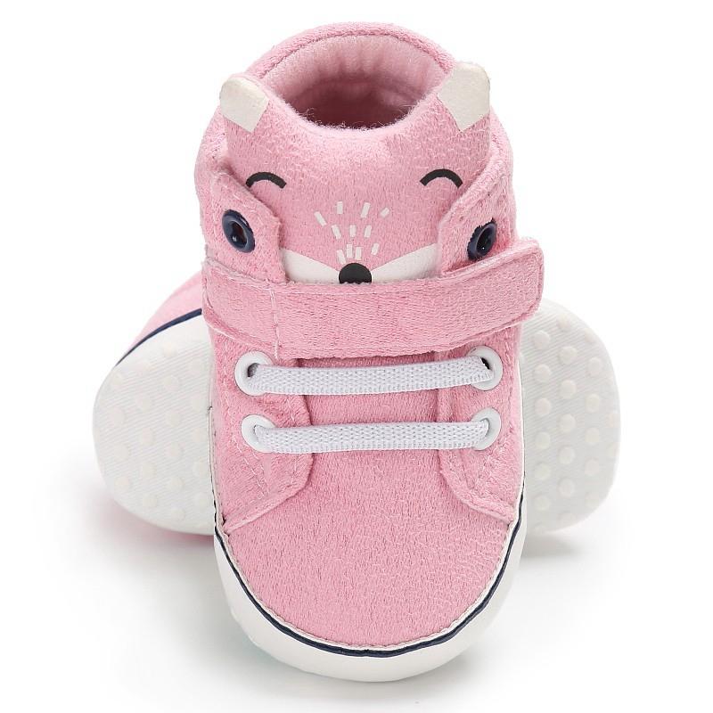 1-paire-de-chaussures-de-bebe-d-039-automne-enfants-garcon-fille-tete-de-renard-G2Q6 miniature 36