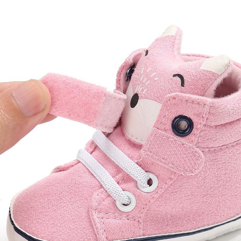 1-paire-de-chaussures-de-bebe-d-039-automne-enfants-garcon-fille-tete-de-renard-G2Q6 miniature 39