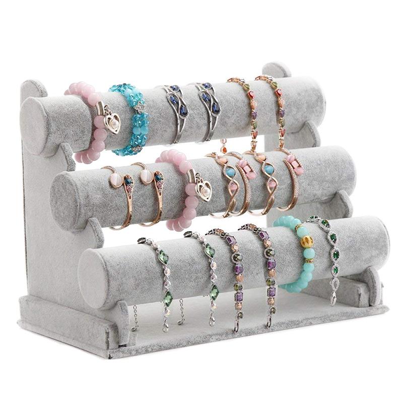 Support de Bracelet A Tripler Support D/'Affichage de Bijoux Montre Bracelet X2D5