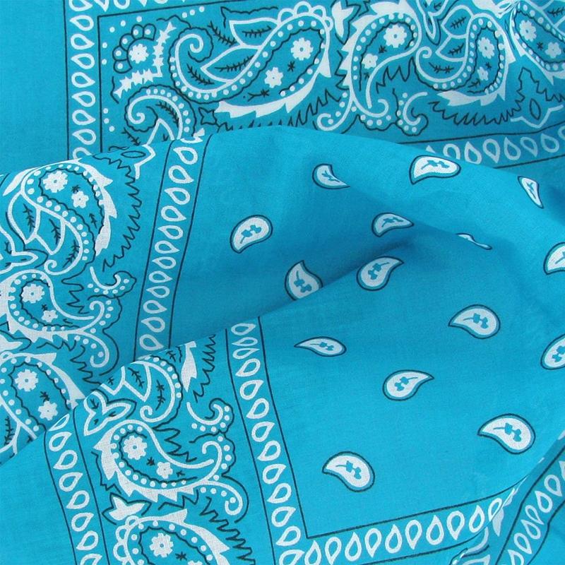 Set-de-3-bandanas-Paisley-Homme-et-Femme-57-x-57-cm-R9G3 miniature 19