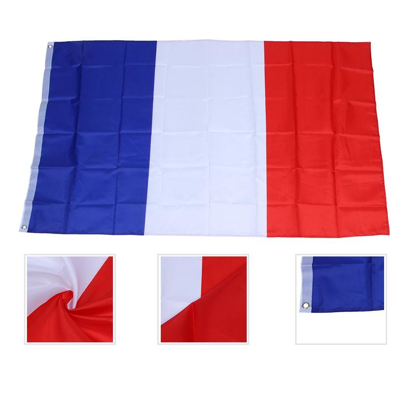 3X(Franzoesische Flagge 150x90cm - Franzoesische Flagge 90 x 150 cm - Unter Y1U7  | Heißer Verkauf