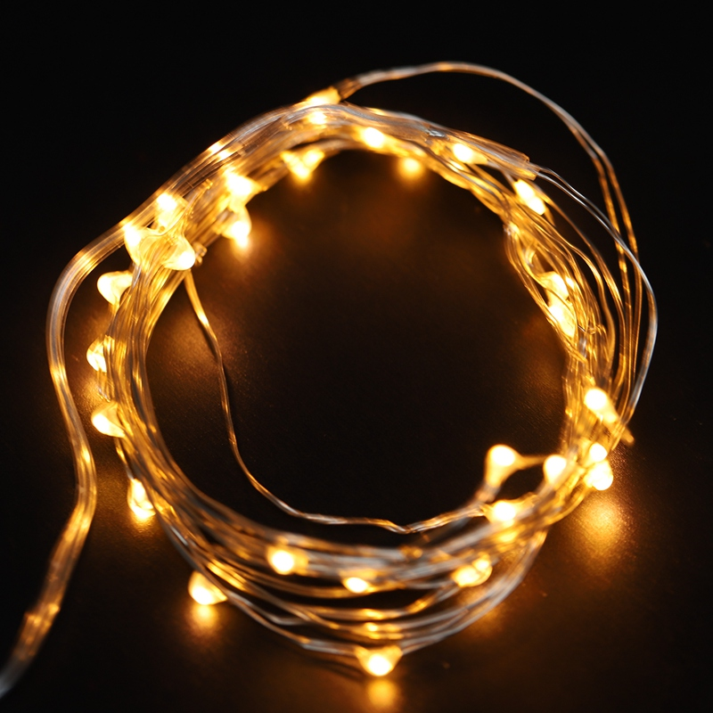 Fairy-Lights-AA-Battery-Powered-5M-50-Leds-Silver-Led-Copper-Wire-String-Li-Z7U7 thumbnail 8