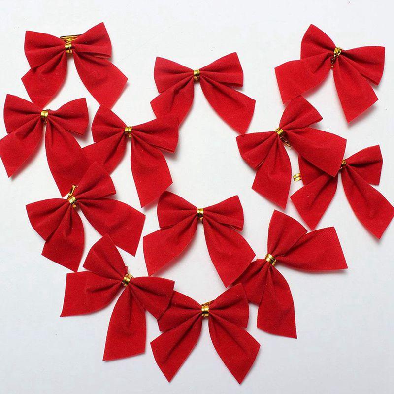 Indexbild 3 - 2X-24-stk-Dekoration-Ornament-Haengende-Ken-Bowk-Schleife-SchmetterliR5U8