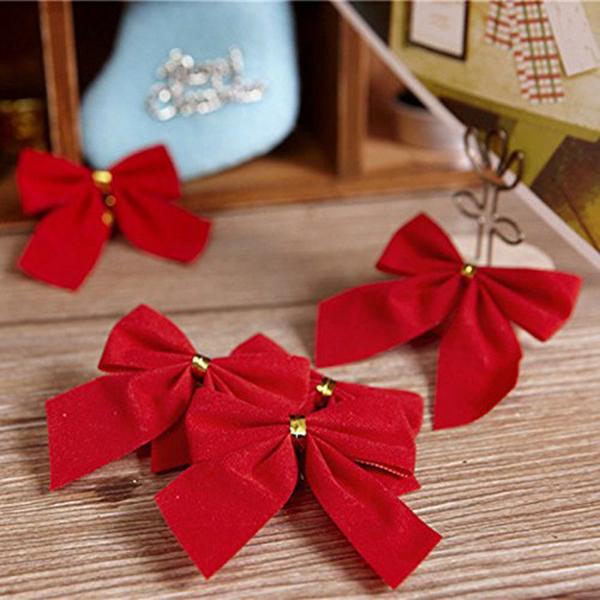 Indexbild 5 - 2X-24-stk-Dekoration-Ornament-Haengende-Ken-Bowk-Schleife-SchmetterliR5U8