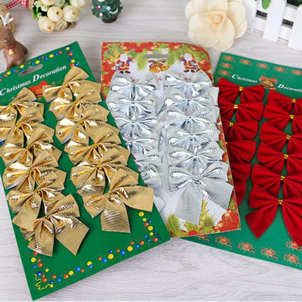 Indexbild 8 - 2X-24-stk-Dekoration-Ornament-Haengende-Ken-Bowk-Schleife-SchmetterliR5U8