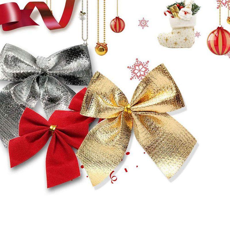Indexbild 9 - 2X-24-stk-Dekoration-Ornament-Haengende-Ken-Bowk-Schleife-SchmetterliR5U8