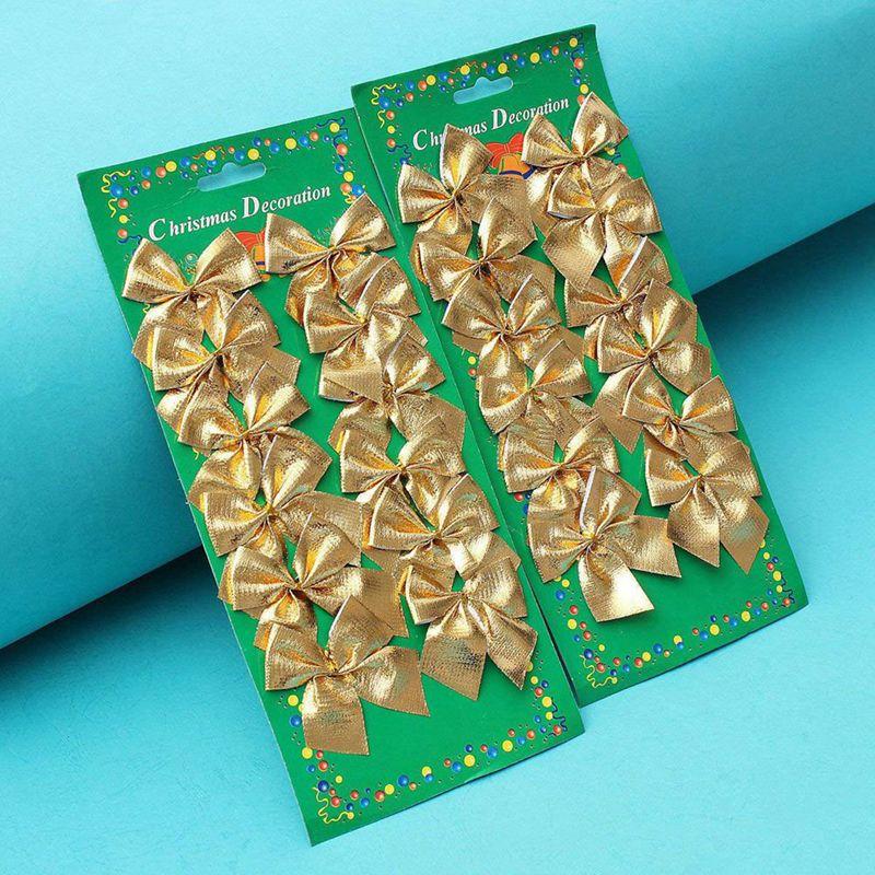 Indexbild 12 - 2X-24-stk-Dekoration-Ornament-Haengende-Ken-Bowk-Schleife-SchmetterliR5U8