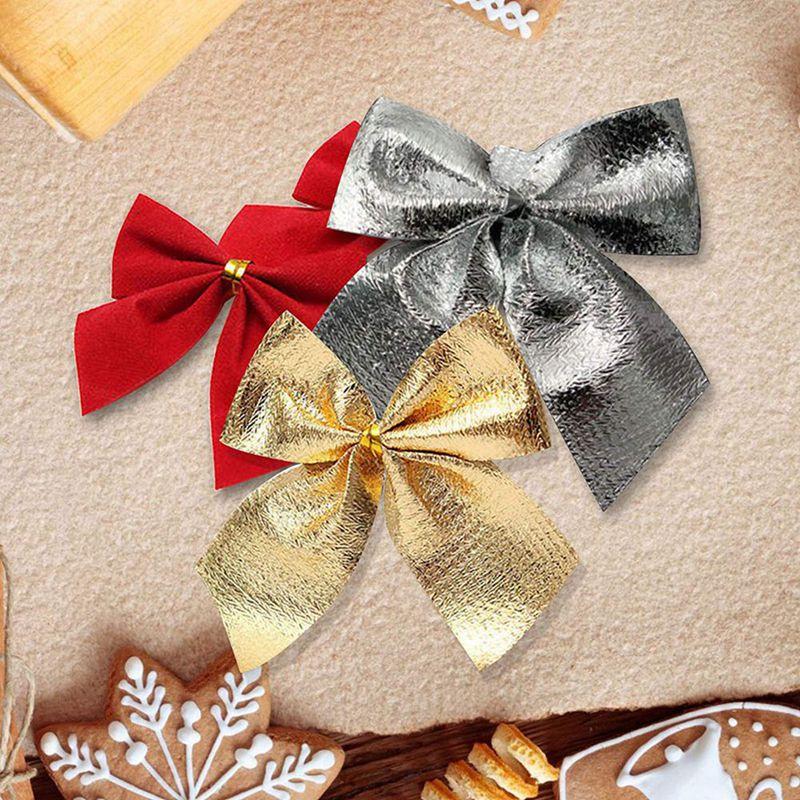 Indexbild 15 - 2X-24-stk-Dekoration-Ornament-Haengende-Ken-Bowk-Schleife-SchmetterliR5U8
