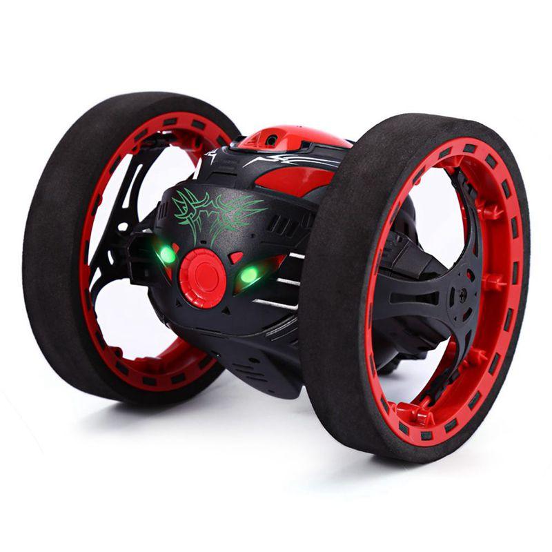2X(Mini Cars Bounce Car PEG SJ88 2.4GHz RC Car with Flexible Wheels redatio T4X1