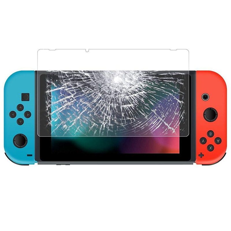 1X-Gehaertetes-Glas-Displayschutzfolie-Fuer-Nintendo-Switch-Anti-Scratch-Hd-W8M8 Indexbild 1