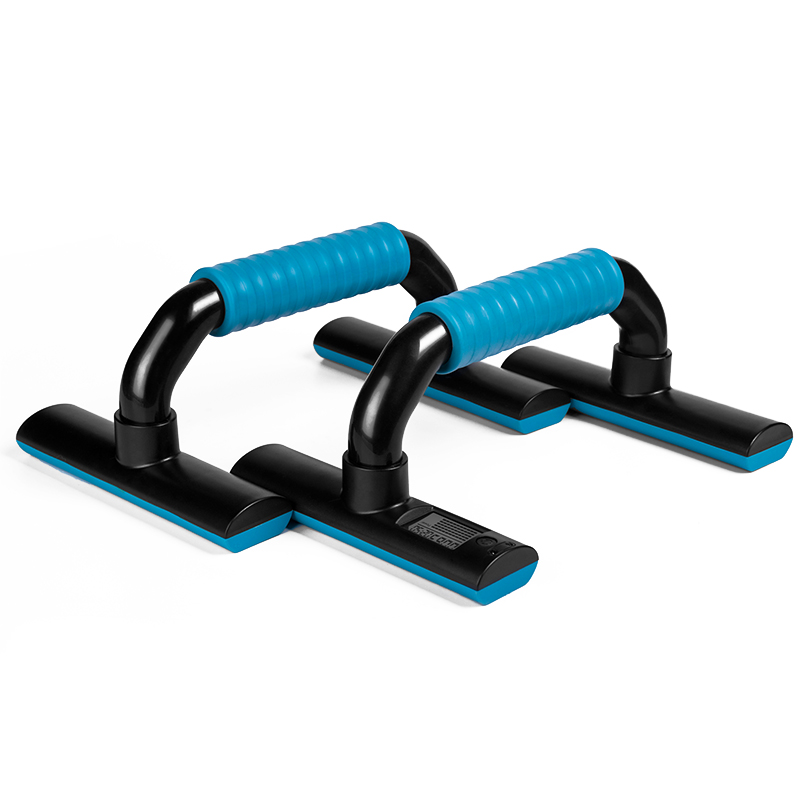 2X(KYTO Push Up Bars Exercise Equipment Digital I-shaped Stands Gym Home Ex D6N8