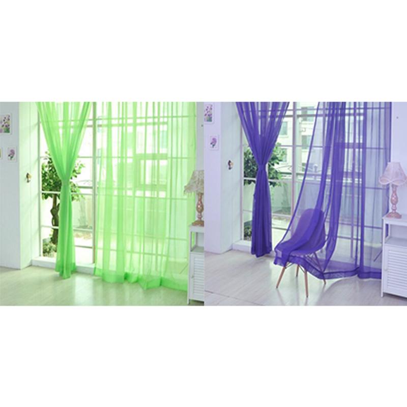 Details about 200cm x 100cm Rideaux en Voile Salon Voilage Design Moderne  Pur de Cantonni 9Z6