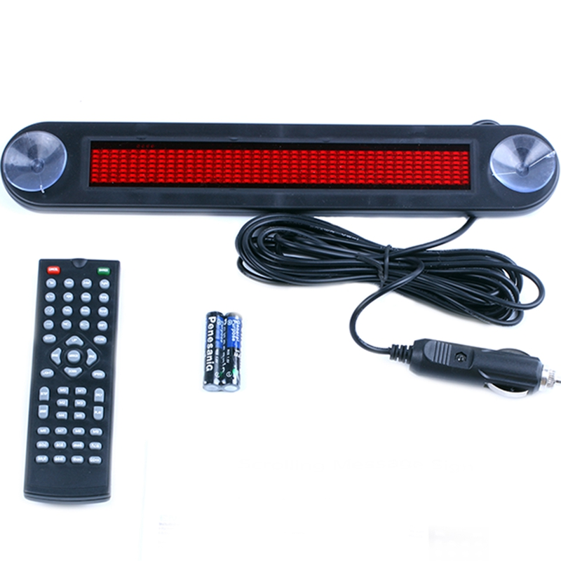 12V-LED-programable-muestra-del-mensaje-de-movimiento-en-sentido-vertical-tarjet miniatura 9
