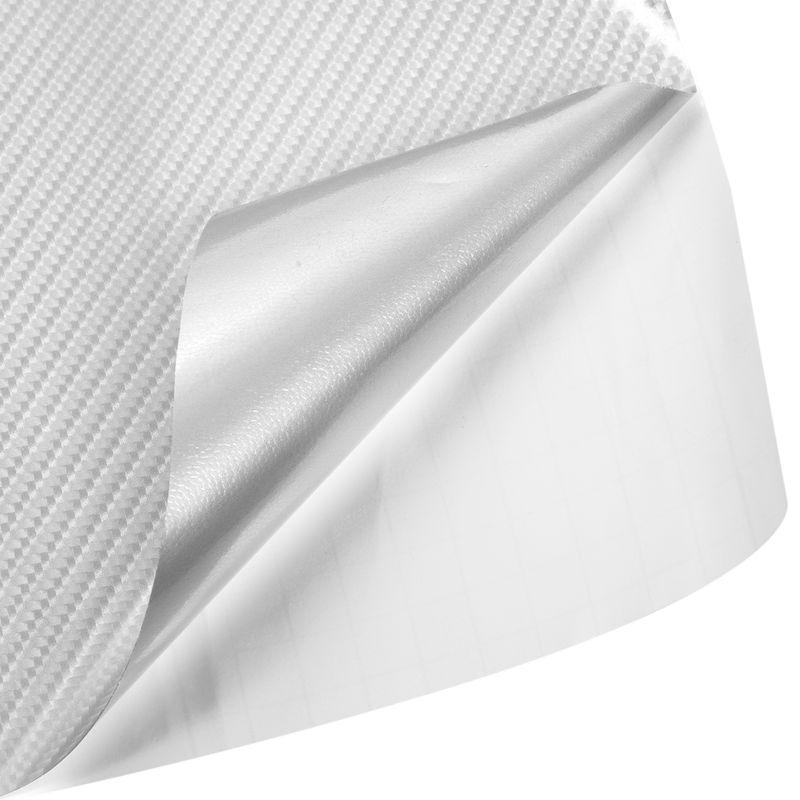 1X-4D-Kohlefaser-Auto-Fahrzeug-Fensterfolie-Folie-Aufkleber-Aufkleber-152X2-8U9 Indexbild 9