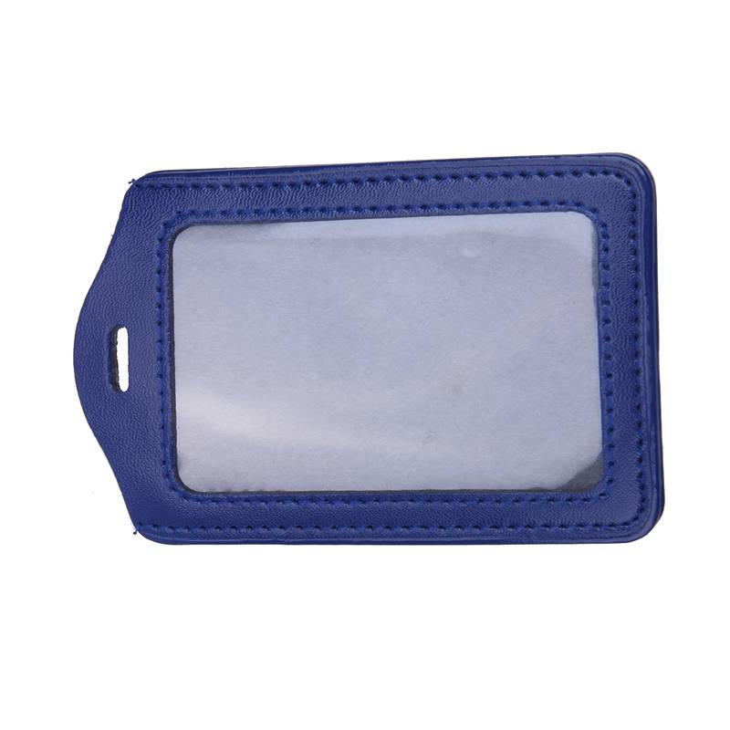 10Pcs-PU-Leather-Pocket-ID-Card-Pass-Badge-Holders-Case-With-Neck-Strap-Lan-G5P4 thumbnail 5