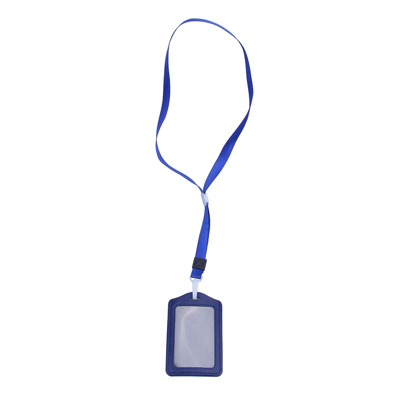 10Pcs-PU-Leather-Pocket-ID-Card-Pass-Badge-Holders-Case-With-Neck-Strap-Lan-G5P4