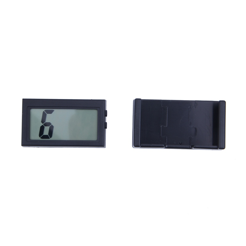 2X-Automotive-Digital-Car-LCD-Clock-Self-Adhesive-Stick-On-Time-Portable-H4F1 miniatuur 8