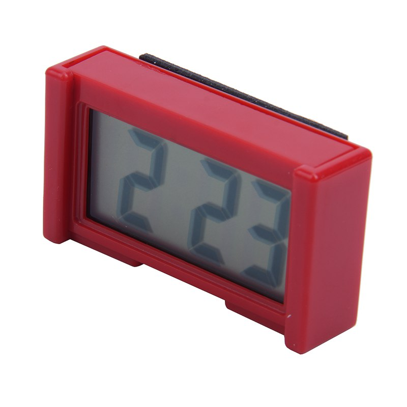 2X-Automotive-Digital-Car-LCD-Clock-Self-Adhesive-Stick-On-Time-Portable-H4F1 miniatuur 10