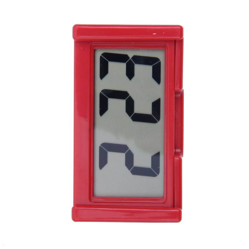 2X-Automotive-Digital-Car-LCD-Clock-Self-Adhesive-Stick-On-Time-Portable-H4F1 miniatuur 11