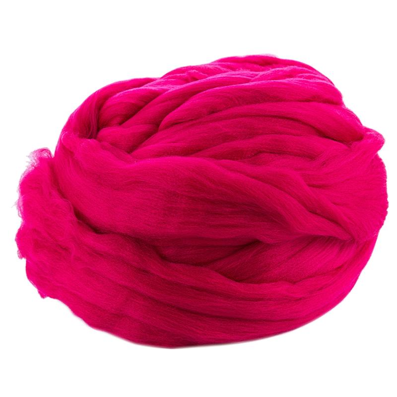 Ball Garn Wolle Garn Super Weich Flauschige Arm Strickwolle Roving