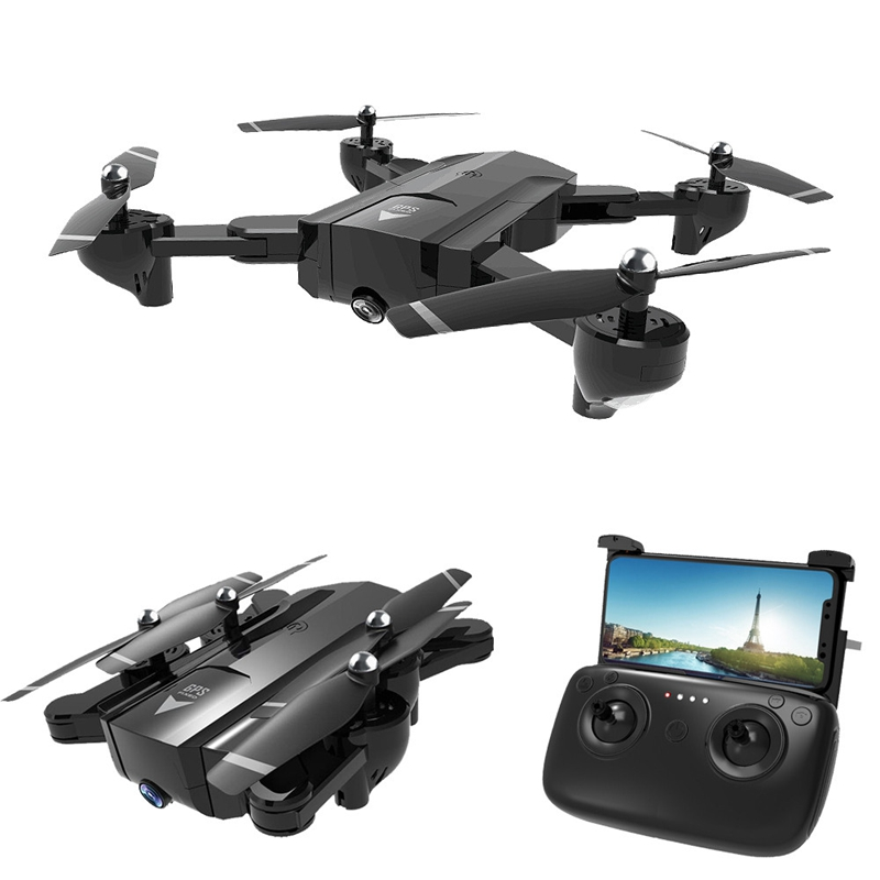 SG900-S Foldable Quadcopter 2.4GHz HD Drone Quadcopter WIFI FPV Drones GPS C9A7)
