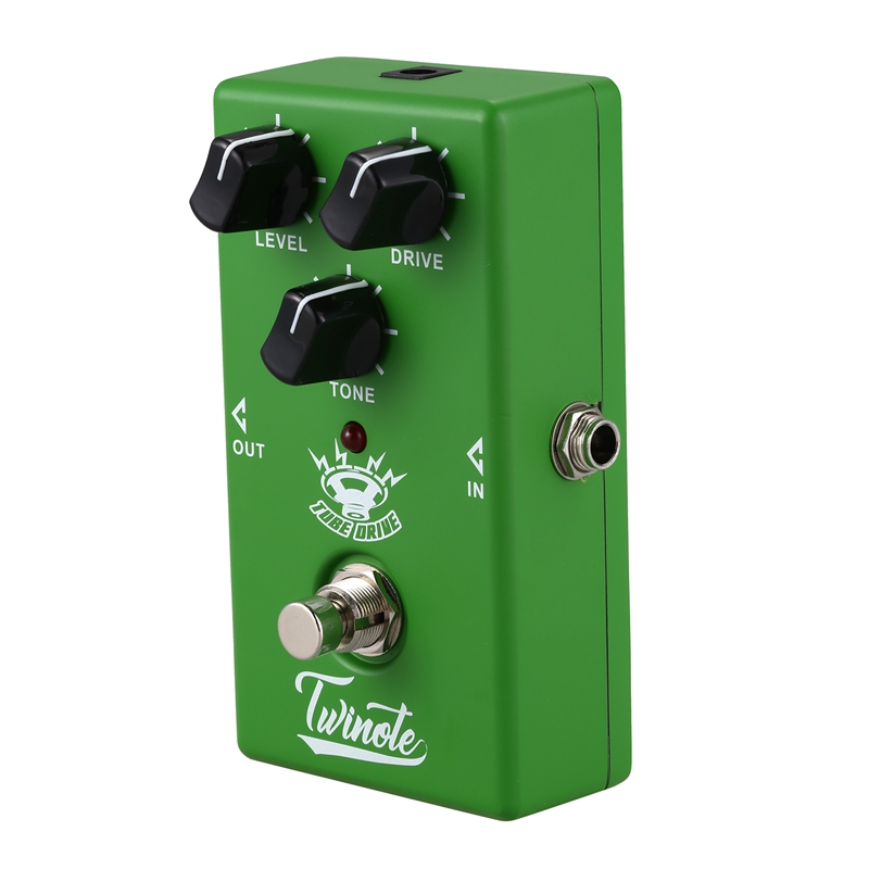 1x twinote tube drive guitar effect pedal overdrive effects pedal sound gui e6d1 192948395901 ebay. Black Bedroom Furniture Sets. Home Design Ideas