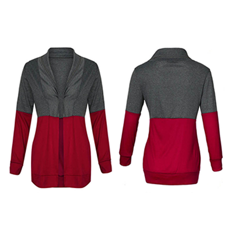 1X-Mode-Decontractee-Femmes-tricot-pull-a-manches-longues-col-Cardigan-pull-R9G7 miniature 7