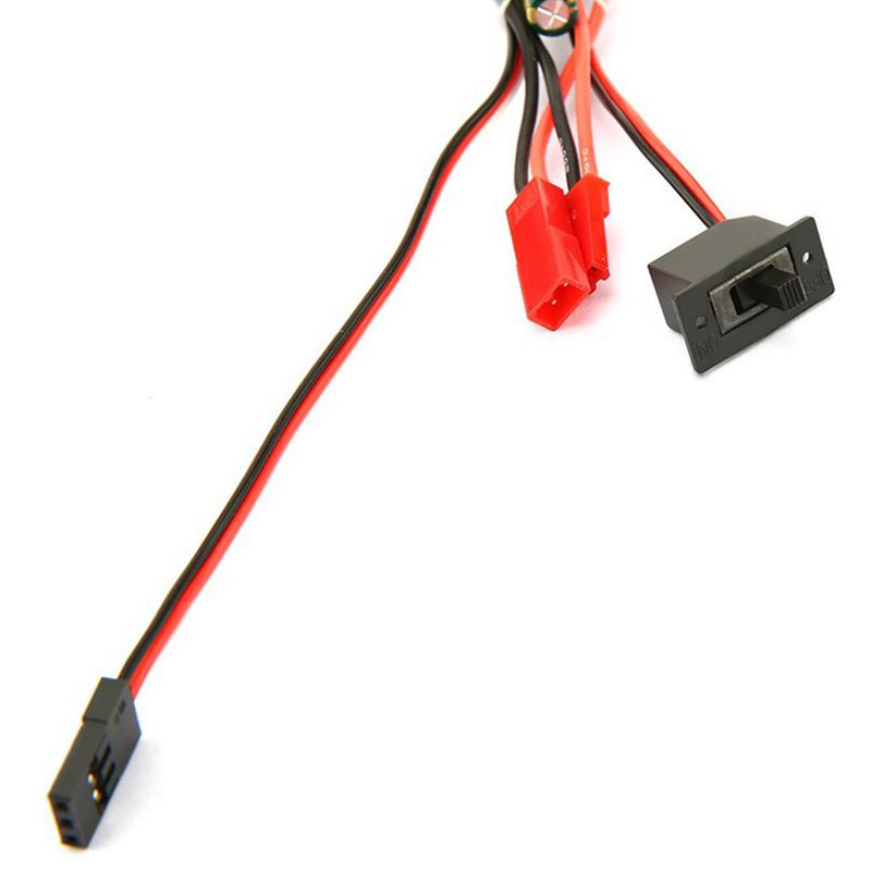 Synthetic-30A-Mini-Brushed-ESC-Brush-Electronic-Speed-Controller-for-RC-Car-S8V5 thumbnail 9