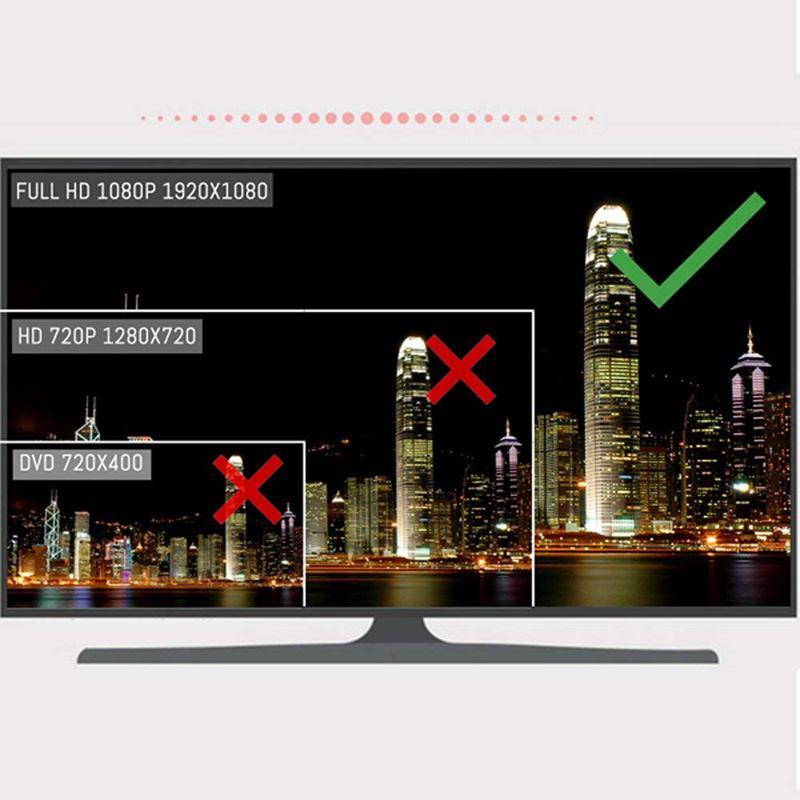 1X 1//4 Zoll Farbe CMOS 1080P HD CCTV-Überwachungskamera, IR-Schnitttag-Nacht GY