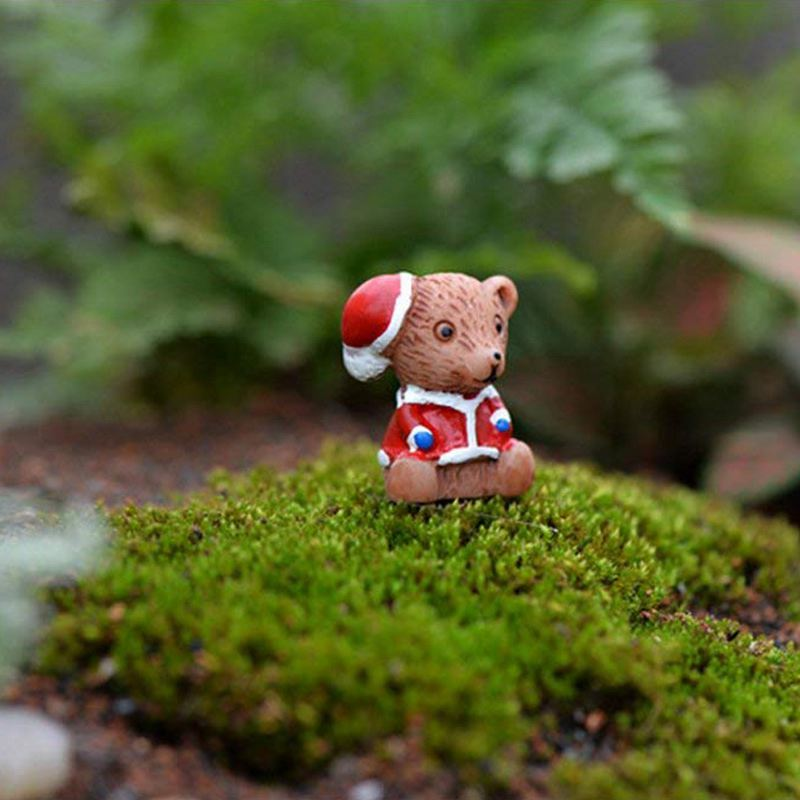 10pcs-Mini-Animal-Miniature-Bear-Resin-Decoration-House-Fee-Micro-Landscape-S7X4