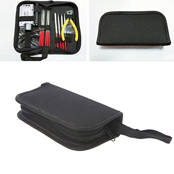 guitar repair kit set of 14pc repair maintenance tools with guitar needle i1w7 ebay. Black Bedroom Furniture Sets. Home Design Ideas