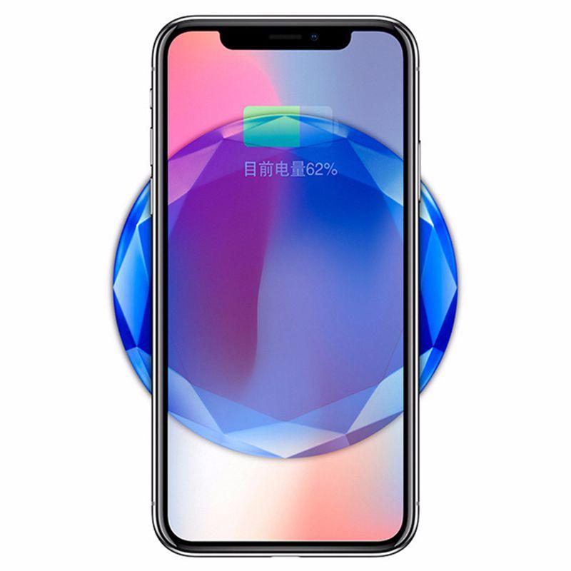 1X-Neues-Innovatives-Diamant-Modell-Kabelloses-Ladegerat-fuer-iPhone-x-8-QM3W3 Indexbild 8