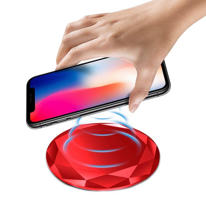 1X-Neues-Innovatives-Diamant-Modell-Kabelloses-Ladegerat-fuer-iPhone-x-8-QM3W3 Indexbild 20