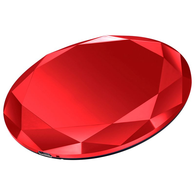 1X-Neues-Innovatives-Diamant-Modell-Kabelloses-Ladegerat-fuer-iPhone-x-8-QM3W3 Indexbild 22
