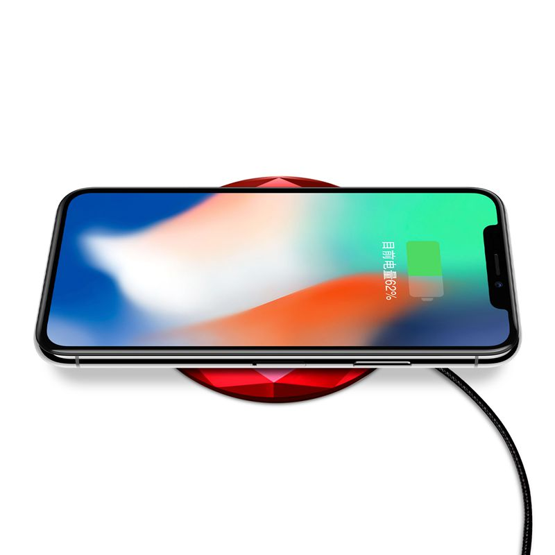 1X-Neues-Innovatives-Diamant-Modell-Kabelloses-Ladegerat-fuer-iPhone-x-8-QM3W3 Indexbild 25