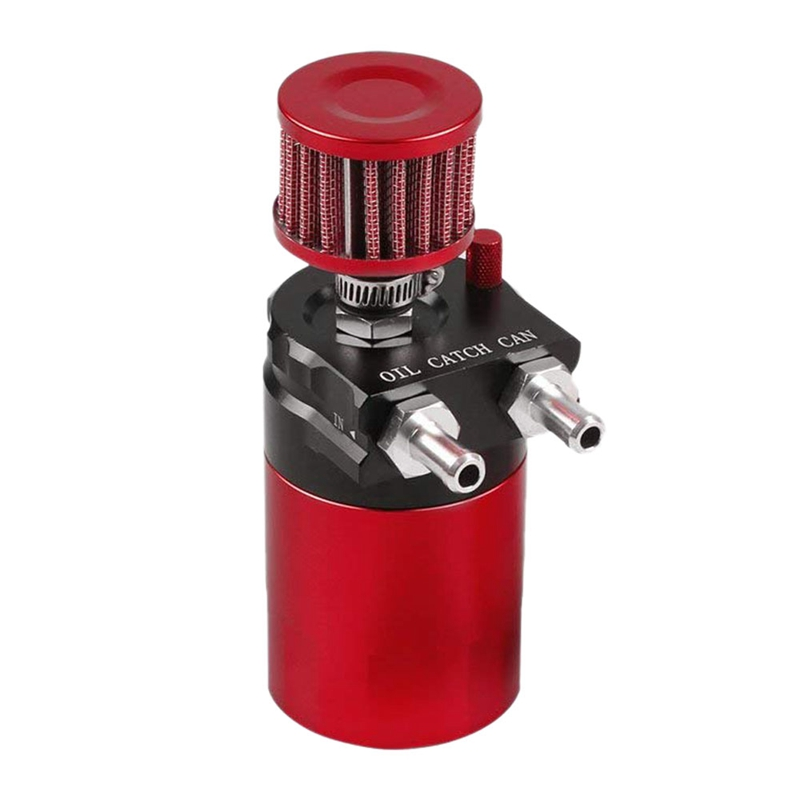 For Ford Adjustable Fuel Pressure Regulator 0-140 Psi Aluminum Set Red W// Gauge