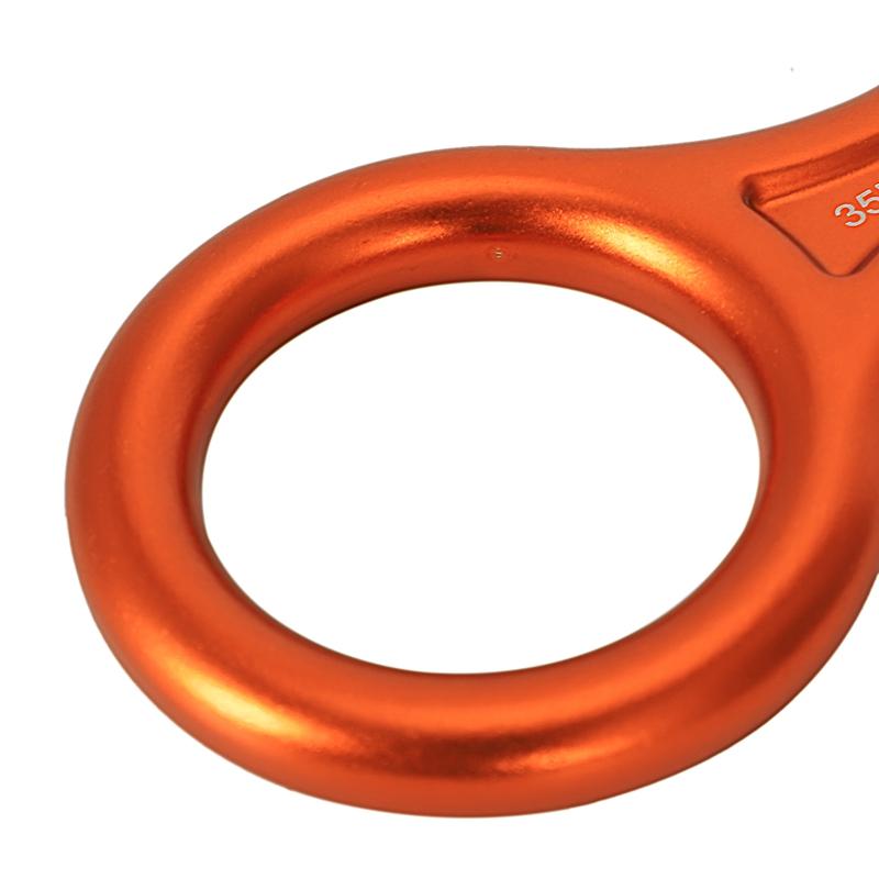Alpinisme-Escalade-Dispositif-Anneau-Boucle-Rappel-d-039-Assurage-35-KN-L5Y8 miniature 8