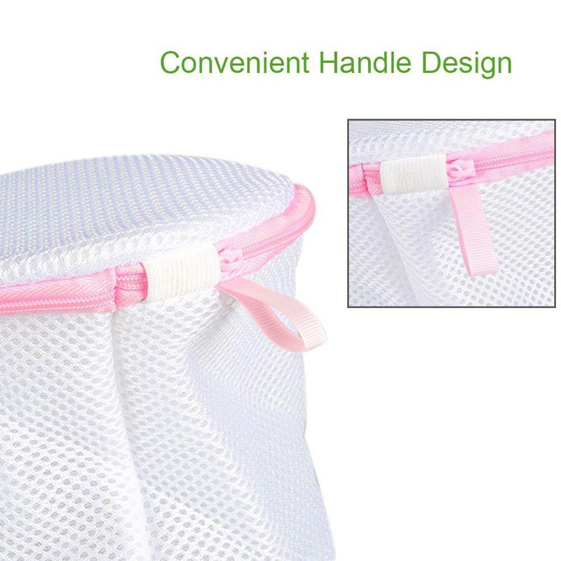 6 High Quality Double Mesh Laundry Bags The Protective Underwear Is Not Deformed Non Winding Reducing Damage Of Washing To Clothing