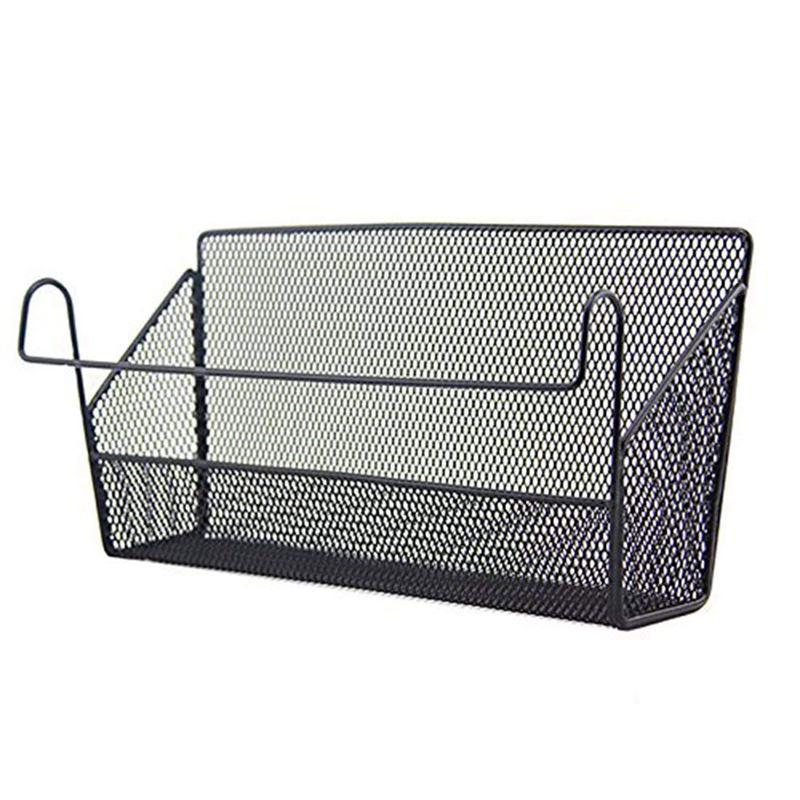 Shelf Baskets Office Table Dormitory Bedside Hanging Storage Supplies Desk L6m1