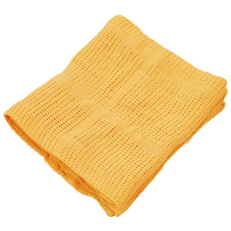 thumbnail 20 - 100% Cotton Baby Infant Cellular Soft Blanket Pram Cot Bed Mosses Basket Cr L3R8