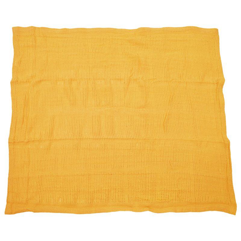 thumbnail 21 - 100% Cotton Baby Infant Cellular Soft Blanket Pram Cot Bed Mosses Basket Cr L3R8