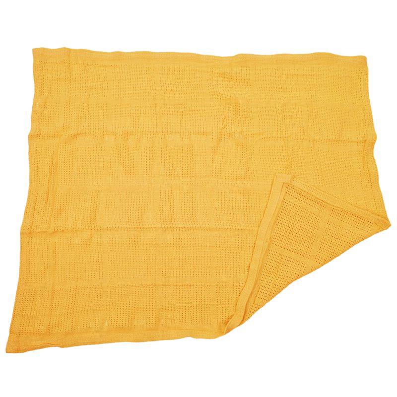 thumbnail 23 - 100% Cotton Baby Infant Cellular Soft Blanket Pram Cot Bed Mosses Basket Cr L3R8