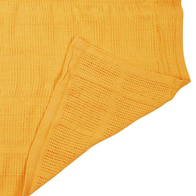 thumbnail 24 - 100% Cotton Baby Infant Cellular Soft Blanket Pram Cot Bed Mosses Basket Cr L3R8