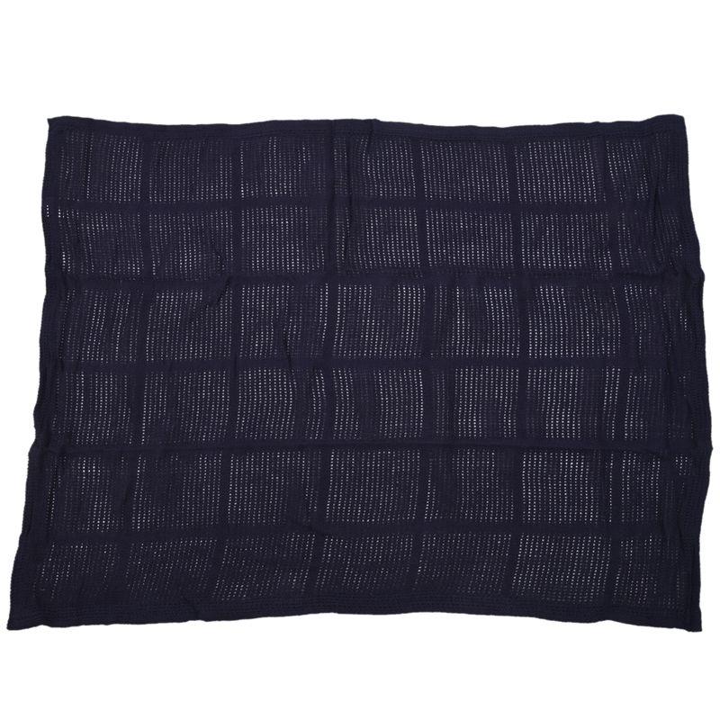 thumbnail 29 - 100% Cotton Baby Infant Cellular Soft Blanket Pram Cot Bed Mosses Basket Cr L3R8